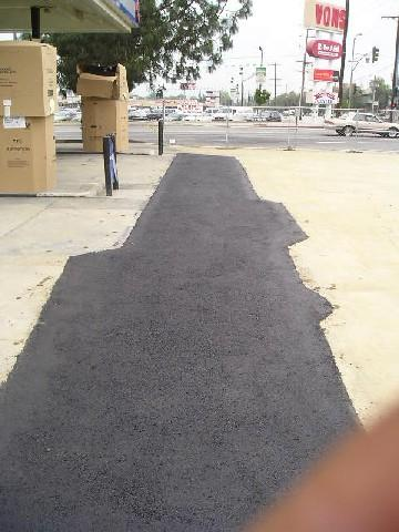 New Asphalt Patch