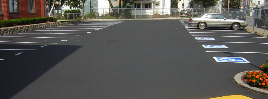 Asphalted Parking Lot
